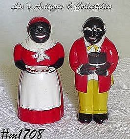 AUNT JEMIMA AND UNCLE MOSE SALT AND PEPPER