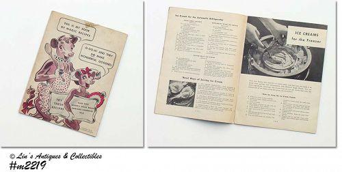 Elsie the Cow Borden Vintage Cookbook Copr 1941