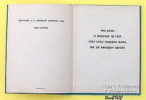 �THE LITTLE BOOK OF COLORS� � 1ST EDITION, 1944