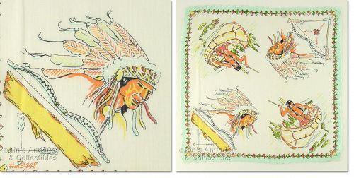 Native Americans Handkerchief