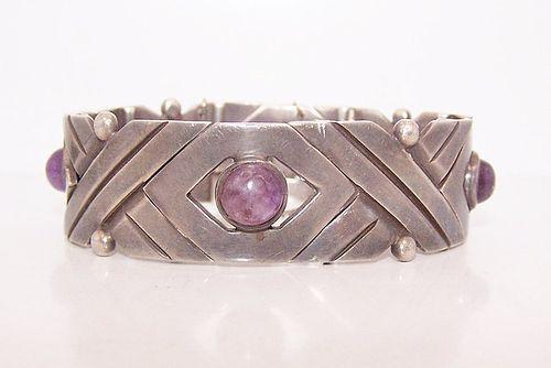 Hector Aguilar X Vintage Mexican Silver Bracelet