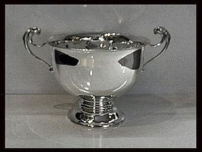 English Silver Trophy Bowl, London 1912, Charles Boyton