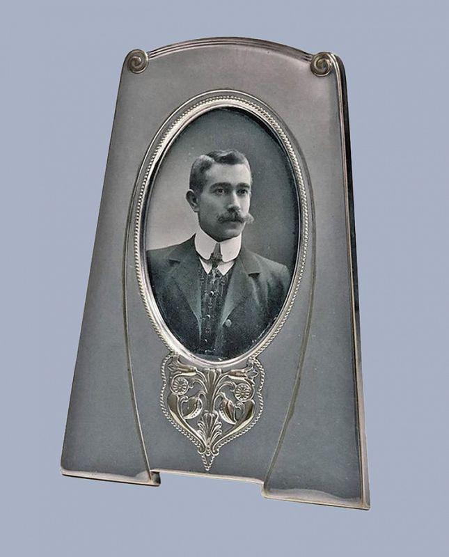 W.M.F Art Nouveau Jugendstil Silver Plate Frame, Germany C.1910