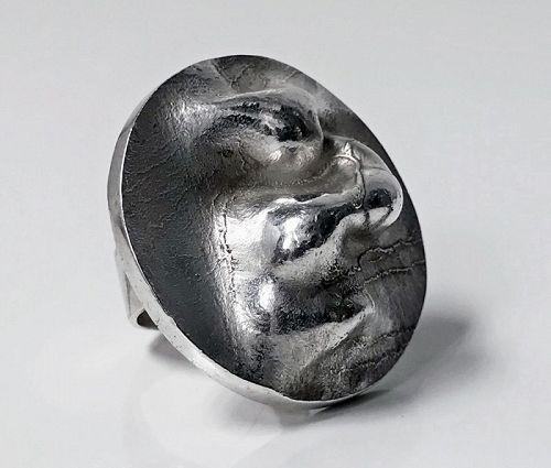 Lapponia Bjorn Weckstrom Sterling Ring, 1971