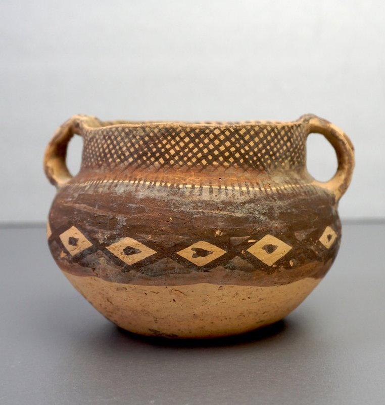 Machang Culture Pottery Bowl, 2300-2000BCE