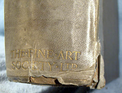 ETCHINGS OF FRANK BRANGWYN BOOK - Fine Arts 1912