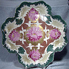 Handpainted MORIAGE CHRYSANTHEMUMS DRESSER TRAY 1880s