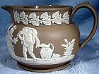 Rare CLEWS JASPERWARE CREAM JUG 1815-34