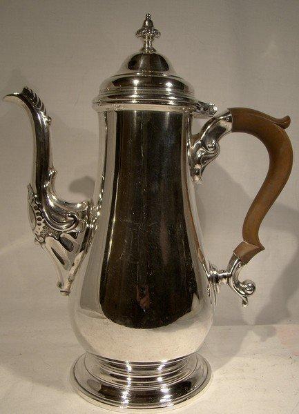 Vintage BIRKS STERLING SILVER COFFEE POT