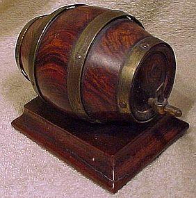 Rare Georgian WHISKEY BARREL FIGURAL STRING HOLDER 1800-30