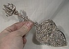 Fa Dahlia Dutch 835 Solid Silver Pie Lifter or Cake Server 1920 Ornate