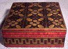 Exceptional Victorian Tunbridge Ware Trinket or Dresser Box 1850s