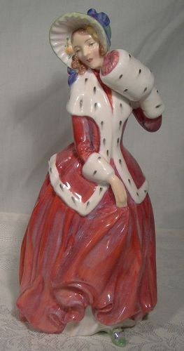 Royal Doulton Christmas Morn HN1992 Early Figurine