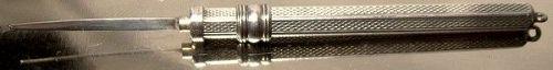 Birks Sterling Silver Extending Toothpick - Pendant or Pocket