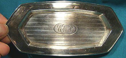 Edwardian Sterling Silver Pin or Dresser Tray Hallmarked Birmingham