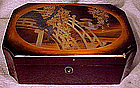 Lovely JAPANESE LACQUER LARGE BOX c1900
