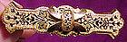 Great Victorian RGP ENAMEL BAR BROOCH c1870-80
