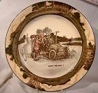Royal Doulton Room for One EARLY MOTORING SERIES WARE PLATE