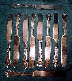 Gorham ROSETTE Sterling Flatware c1868 - Assorted Items