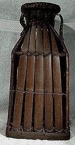 Vintage JAPANESE IKEBANA BAMBOO BASKET