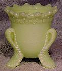 VERMONT US Glass CUSTARD TOOTHPICK HOLDER 1899