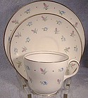 WEDGWOOD S123 PINK BUDS & BLUEBELLS CHINA TRIO