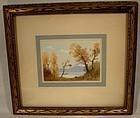 JOHN HUBERT BEYNON Watercolor Painting Canadian 1890-1970 Watercolour