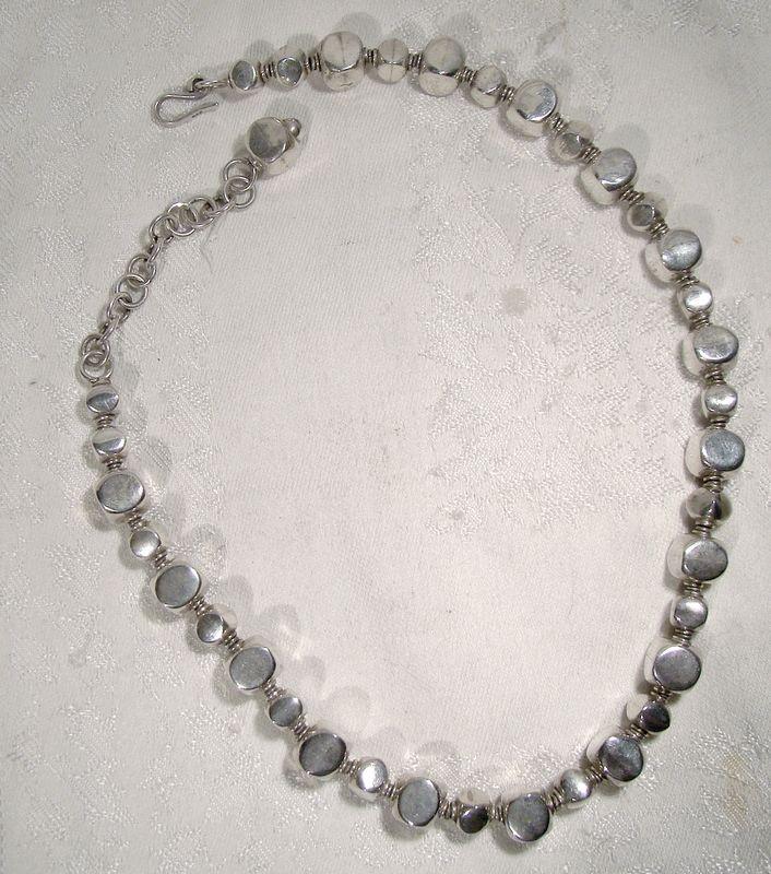 Ilaria Peru 950 Silver Beads Necklace - 60.2 Grams