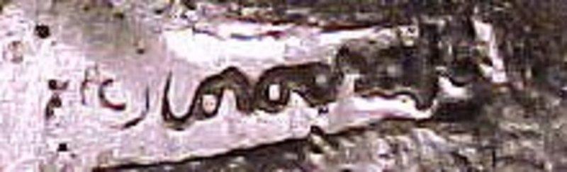Signed COROCRAFT ULTRAMODERN BROOCH c1950s
