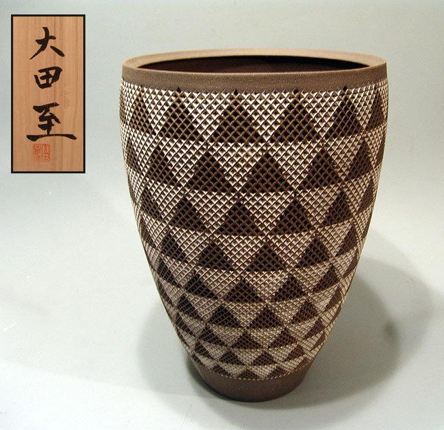 Exhibited Contemporary Vase by Ota Itaru