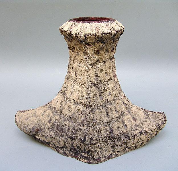 Unusual Pottery Vase by Koinuma Michio