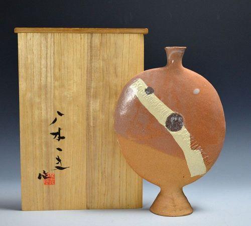 Sodeisha Founder Yagi Kazuo �Singing� Henko Vase