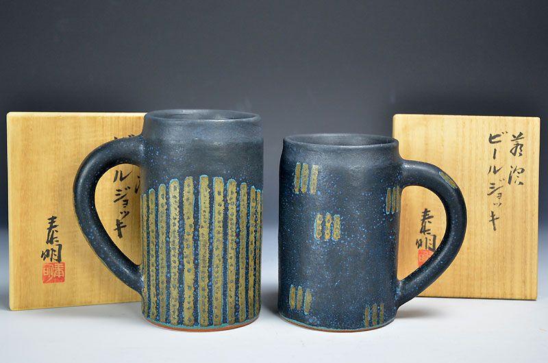Morino Taimei Beer Mugs