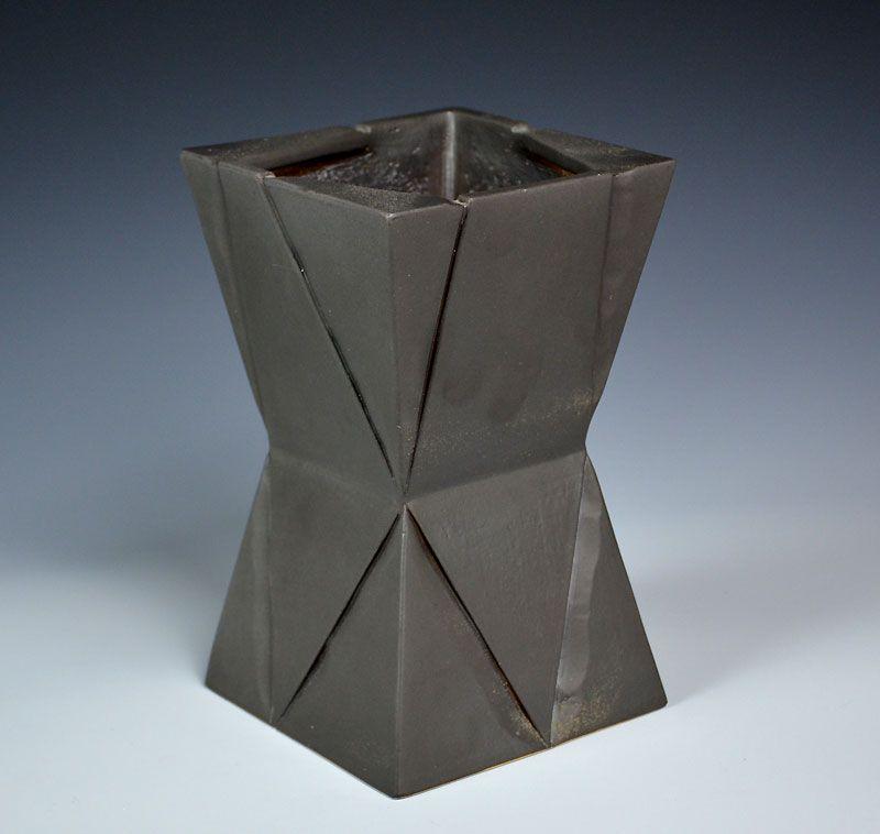 Kiyomizu Masahiro (Rokubei VIII) Belted Vase
