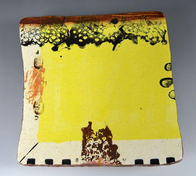 Toban Ceramic Plate by Kim Hono