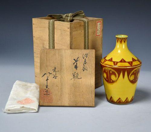 Art-Deco Inspired Bottle by LNT Tokuda Yasokichi I