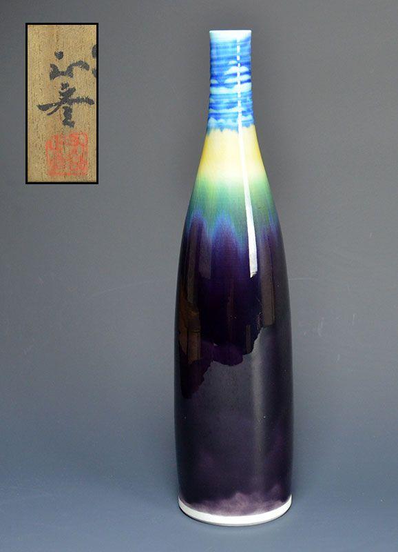 Living National Treasure Tokuda Yasokichi III Vase