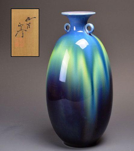 LNT Tokuda Masahiko (Yasokichi III) Porcelain Vase