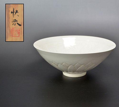 LNT Tsukamoto Kaiji White Porcelain Bowl