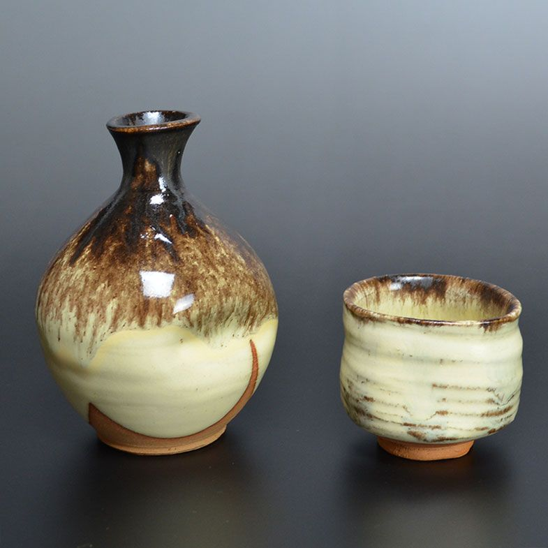A Konko-yu sake set, by Richard Milgrim