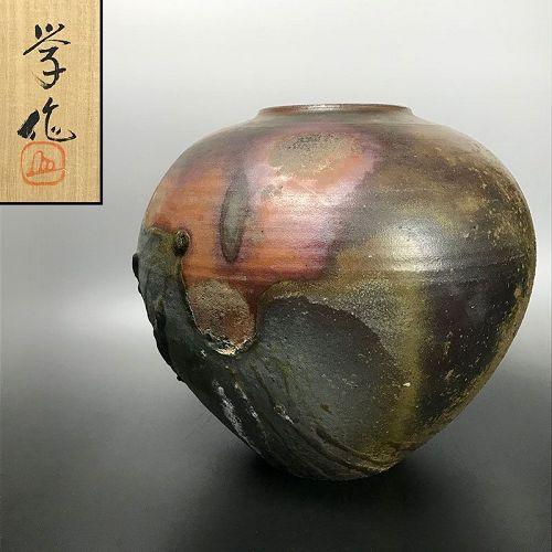 WOW! Bizen Yohen Tsubo by Yukuyoshi Manabu