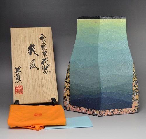 Miyashita Zenji Deisai Pottery Vase