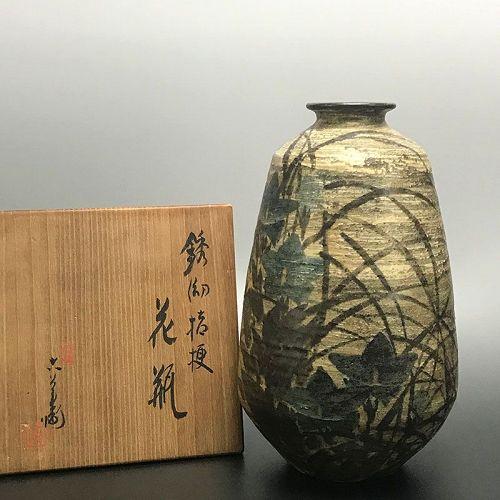 Classical Kiyomizu Rokubei VI Vase