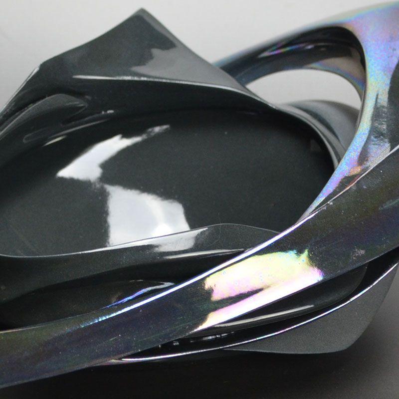 Matsumura Jun Iridescent Necrosis Chawan Tea Bowl