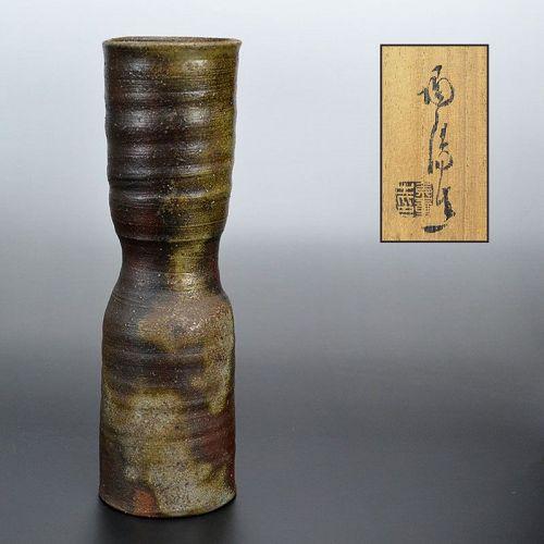 Elegant LNT Kaneshige Toyo Bizen Vase