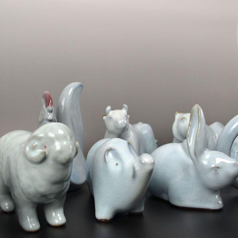Miyashita Zenji 12 Animals of the Zodiac Set