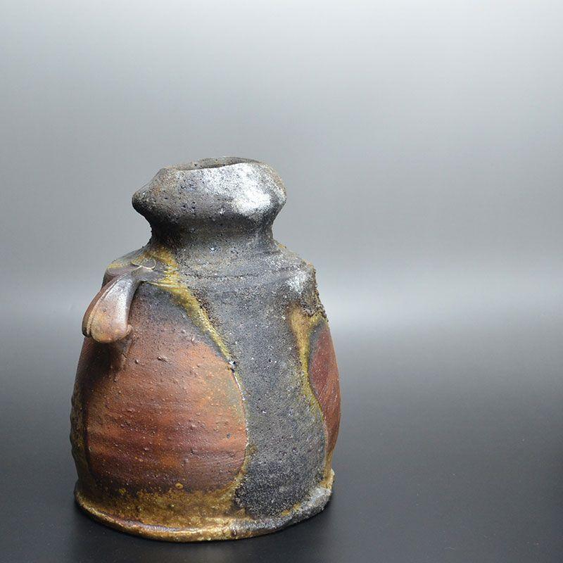 Kakurezaki Ryuichi Bizen Yohen Vase