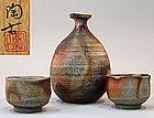 Bizen Sake Set by Konishi Toko II