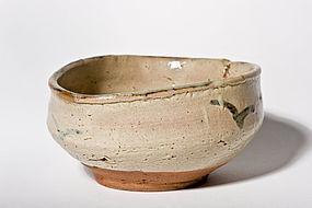 Early 17th century Japanese gutsu-gata chawan