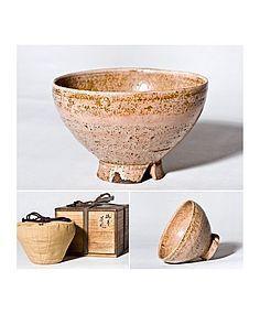 Japanese Edo Period Hagi Gohon Chawan